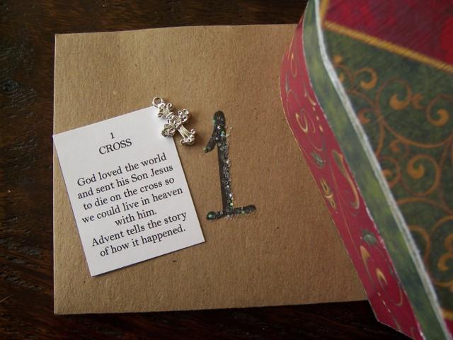 Advent envelope