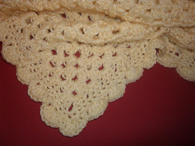 Katie's baby blanket