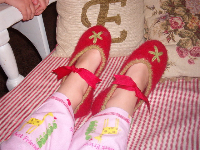 Audrey's slippers