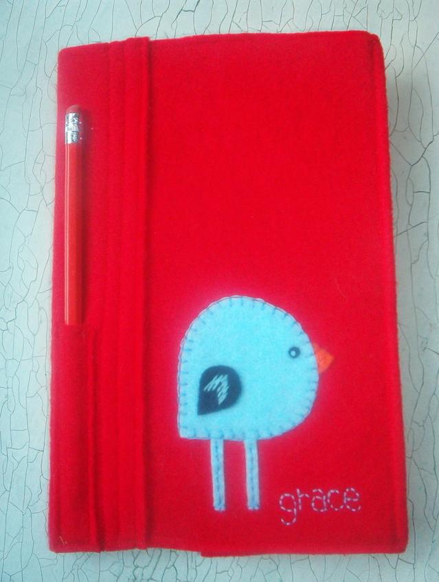 Felt notebook cover