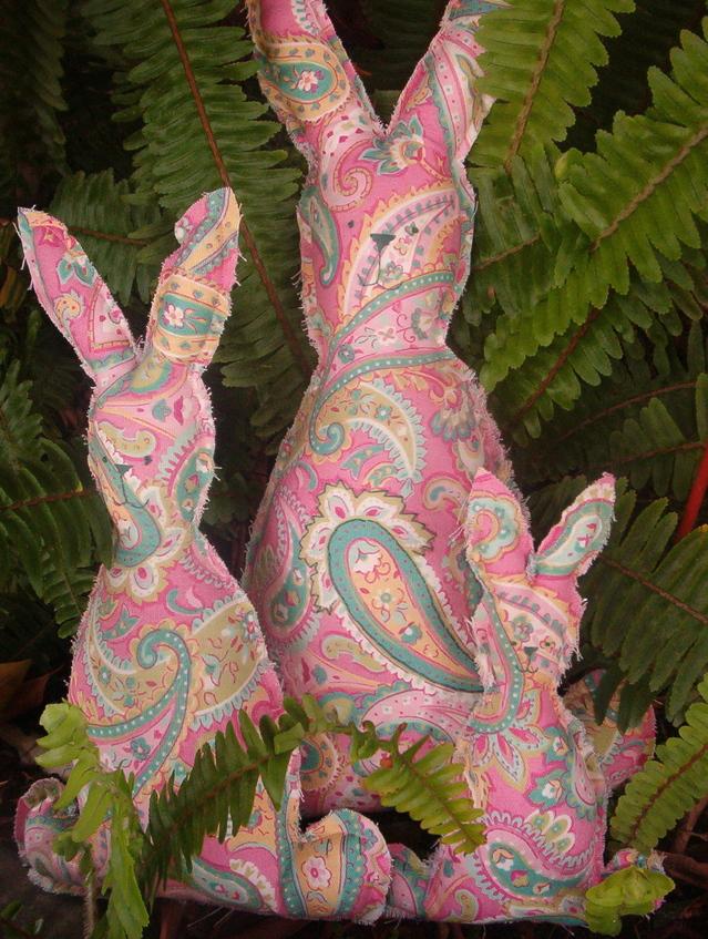 Paisley bunnies